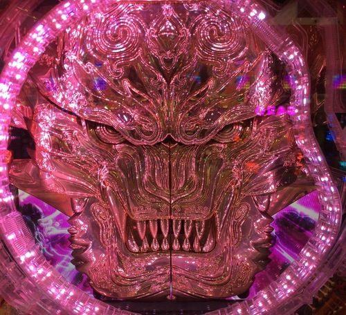 牙狼魔戒紫フェイスオブガロ