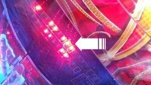 CRぱちんこAKB48-バラの儀式- 開放パターンランプ
