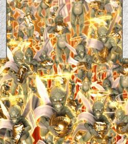 CR牙狼GOLDSTORM翔 3D魔天使群