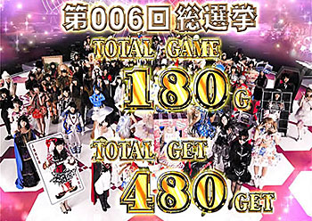 AKB48勝利の女神 ART終了画面